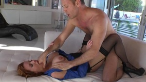 Slamming hard with Veronica Avluv next to Mark Wood