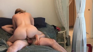 Hard nailining with big ass auntie Erin Electra